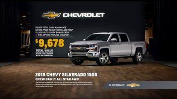 2018 Chevrolet Silverado 1500 TV Spot, 'Auto Show Cash' [T2] - Thumbnail 7