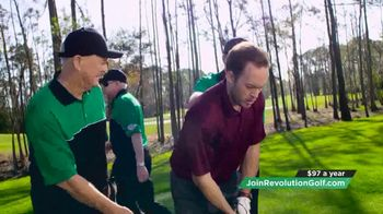 Revolution Golf TV Spot, 'Pit Crew'