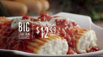 Olive Garden Big Italian Classics TV Spot, 'Biggest News Ever'