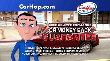 CarHop Auto Sales & Finance TV Spot, 'Vehicle History Report' - Thumbnail 2