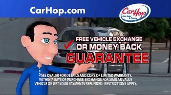 CarHop Auto Sales & Finance TV Spot, 'Vehicle History Report' - Thumbnail 3