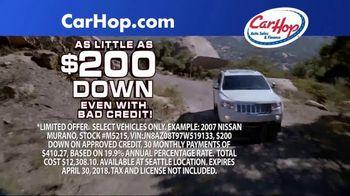 CarHop Auto Sales & Finance TV Spot, 'Vehicle History Report' - Thumbnail 5