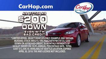 CarHop Auto Sales & Finance TV Spot, 'Vehicle History Report' - Thumbnail 6