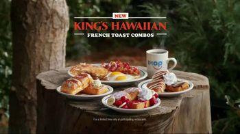 IHOP King's Hawaiian French Toast Combos TV Spot, 'Breakfast Watchers' - Thumbnail 10