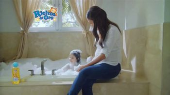 Grisi Ricitos de Oro Body Wash TV Spot, 'La hora del baño' [Spanish]