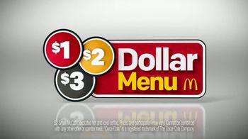 McDonald's $1 $2 $3 Dollar Menu TV Spot, 'A Dollar: McChicken Sandwich' - Thumbnail 7