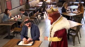 Burger King Sourdough King TV Spot, 'The King's Buns'