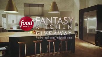Food Network Fantasy Kitchen Giveaway TV Spot, 'Dreams Become Reality'