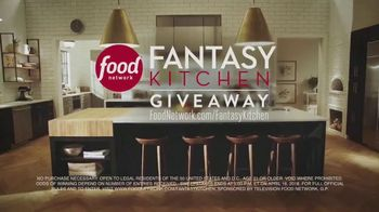 Food Network Fantasy Kitchen Giveaway TV Spot, 'Dreams Become Reality' - Thumbnail 7
