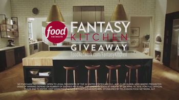 Food Network Fantasy Kitchen Giveaway TV Spot, 'Dreams Become Reality' - Thumbnail 8