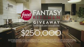 Food Network Fantasy Kitchen Giveaway TV Spot, 'Dreams Become Reality' - Thumbnail 9