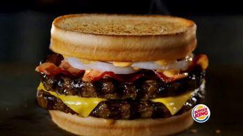 Burger King Sourdough King TV Spot, 'Meaty, Cheesy and Toasty' - Thumbnail 1