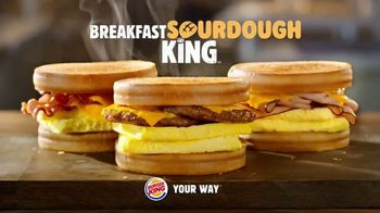 Burger King Sourdough King TV Spot, 'Meaty, Cheesy and Toasty' - Thumbnail 7