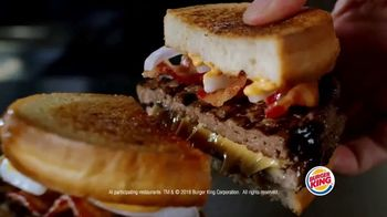 Burger King Sourdough King TV Spot, 'Meaty, Cheesy and Toasty' - Thumbnail 5