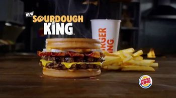 Burger King Sourdough King TV Spot, 'Meaty, Cheesy and Toasty'