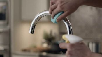 CLR Bath & Kitchen Foaming Action Cleaner TV Spot, 'Messy Enough' - Thumbnail 4