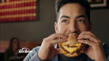 Red Robin Haystack Tavern Double TV Spot, 'Stacked'