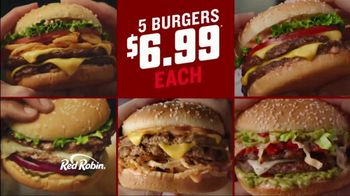 Red Robin Haystack Tavern Double TV Spot, 'Stacked' - Thumbnail 6