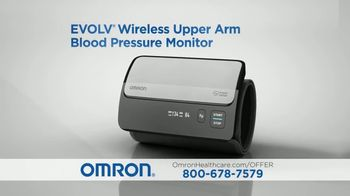 Omron Evolv TV Spot, 'High Blood Pressure' - Thumbnail 4