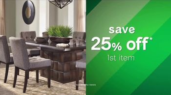 Ashley HomeStore Tax Relief Savings Event TV Spot, 'This Friday Only' - Thumbnail 4