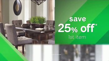 Ashley HomeStore Tax Relief Savings Event TV Spot, 'This Friday Only' - Thumbnail 5