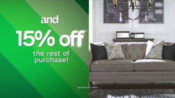 Ashley HomeStore Tax Relief Savings Event TV Spot, 'This Friday Only' - Thumbnail 6