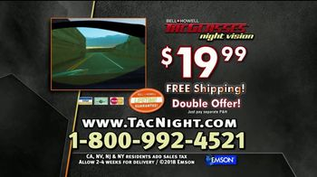 Bell + Howell Night Vision Tac Glasses TV Spot, 'Glaring Light: Double' - Thumbnail 10