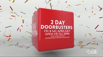 Belk Biggest One Day Sale TV Spot, '2 Day Doorbusters' - Thumbnail 3