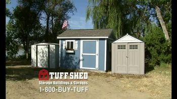 Tuff Shed TV Spot, 'Blowing Away the Competition' - Thumbnail 1