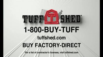 Tuff Shed TV Spot, 'Blowing Away the Competition' - Thumbnail 9