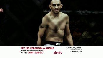 UFC 223 TV Spot, 'XFINITY: Ferguson vs. Khabib' - 11 commercial airings