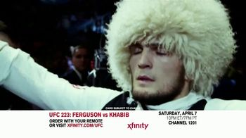 UFC 223 TV Spot, 'XFINITY: Ferguson vs. Khabib' - Thumbnail 1