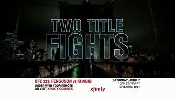 UFC 223 TV Spot, 'XFINITY: Ferguson vs. Khabib' - Thumbnail 7