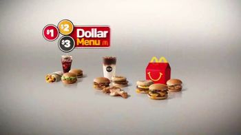 McDonald's $1 $2 $3 Dollar Menu TV Spot, 'The Value of a Dollar' - Thumbnail 2