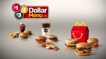 McDonald's $1 $2 $3 Dollar Menu TV Spot, 'The Value of a Dollar' - Thumbnail 3