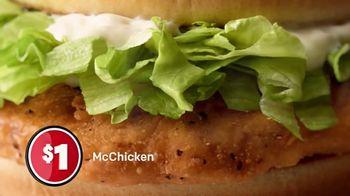 McDonald's $1 $2 $3 Dollar Menu TV Spot, 'The Value of a Dollar' - Thumbnail 8