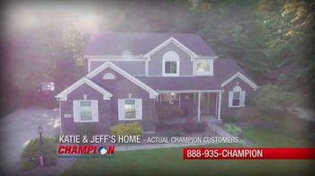 Champion Windows Spring Spring Sale-A-Bration TV Spot, 'Save on Siding' - Thumbnail 1