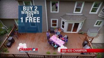 Champion Windows Spring Spring Sale-A-Bration TV Spot, 'Save on Siding' - Thumbnail 3