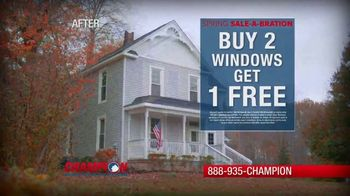 Champion Windows Spring Spring Sale-A-Bration TV Spot, 'Save on Siding' - Thumbnail 8