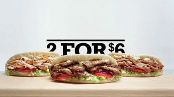 Arby's 2 for $6 Gyros TV Spot, 'Pronunciation Problems' - 1908 commercial airings