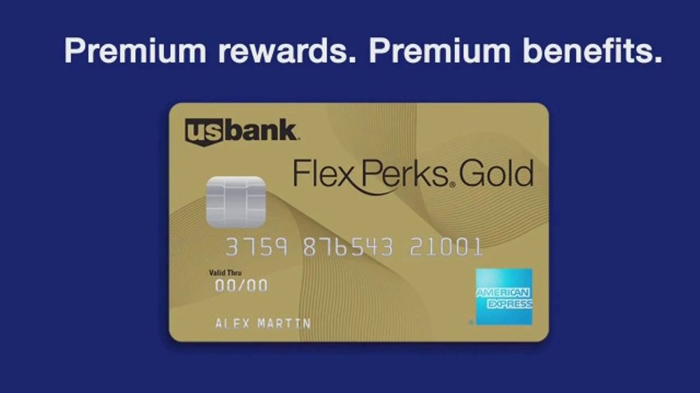 U S  Bank FlexPerks Gold American Express Card TV Commercial, 'Premium' -  Video