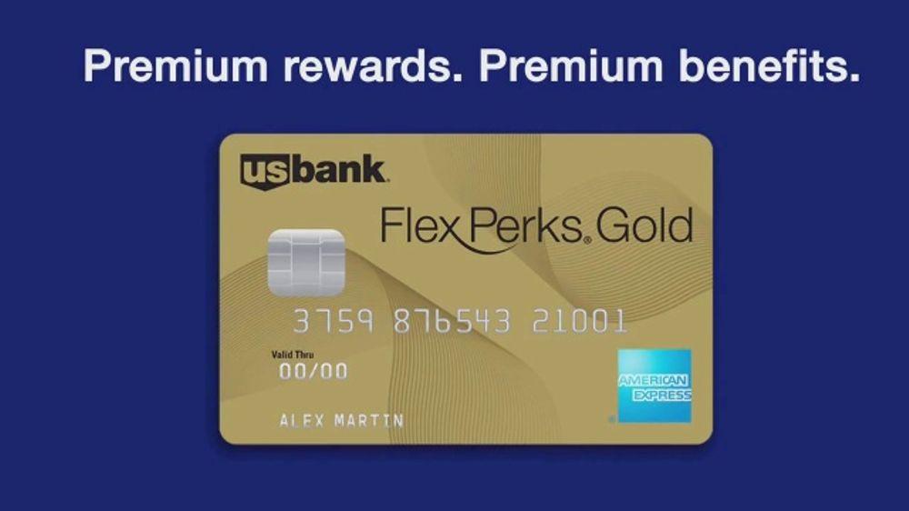 U S  Bank FlexPerks Gold American Express Card TV Commercial, 'Premium' -  Video