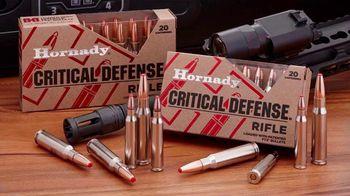 Hornady Critical Defense Rifle TV Spot, 'Home Intruder' - Thumbnail 9