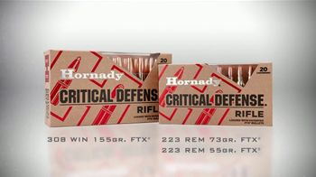 Hornady Critical Defense Rifle TV Spot, 'Home Intruder' - Thumbnail 6