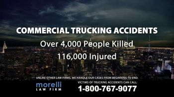 Morelli Law Firm TV Spot, 'Commercial Trucking Accidents' - Thumbnail 1