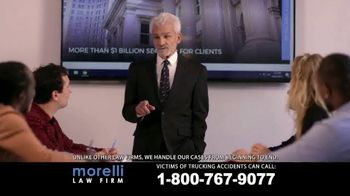 Morelli Law Firm TV Spot, 'Commercial Trucking Accidents' - Thumbnail 2