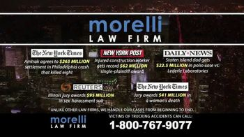 Morelli Law Firm TV Spot, 'Commercial Trucking Accidents' - Thumbnail 6