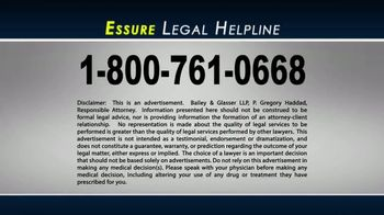 Bailey & Glasser LLP TV Spot, 'Essure Legal Helpline' - Thumbnail 8