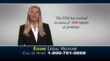 Bailey & Glasser LLP TV Spot, 'Essure Legal Helpline'