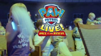 PAW Patrol Live! TV Spot, '2018 Race to the Rescue: McCaw Hall'